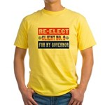 Re-Elect Client No. 9 Yellow T-Shirt