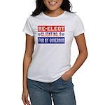 Re-Elect Client No. 9 Women's T-Shirt