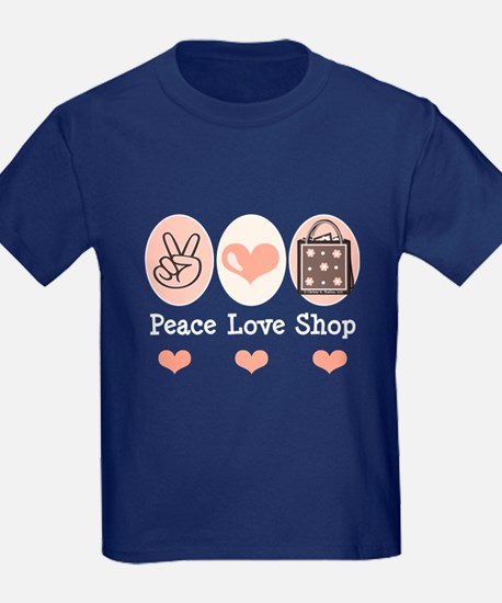 Peace Love Shop Shopping T