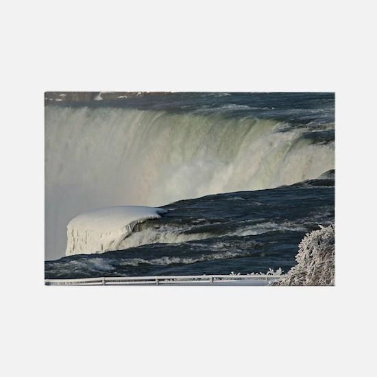 Niagara Falls From Goat Island Rectangle Magnet