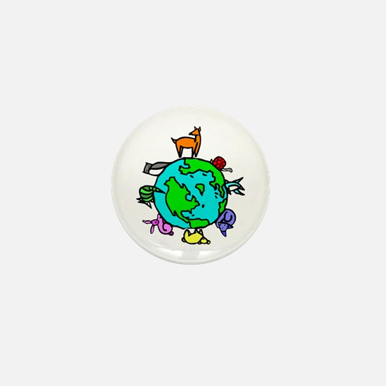 Animal Planet Rescue Mini Button