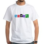 Actor 2 White T-Shirt