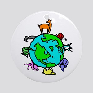 Animal Planet Rescue Ornament (Round)