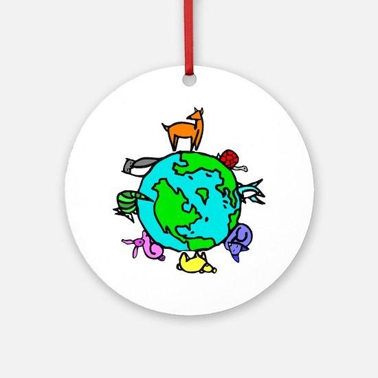 Animal Planet Rescue Ornament (Round)