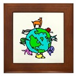 Animal Planet Rescue Framed Tile