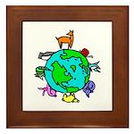Animal Planet Rescue Framed Tile