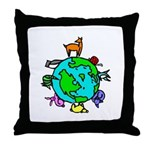 Animal Planet Rescue Throw Pillow