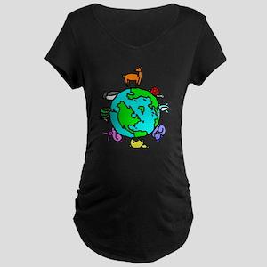 Animal Planet Rescue Maternity Dark T-Shirt