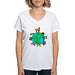 Animal Planet Rescue Women's V-Neck T-Shirt