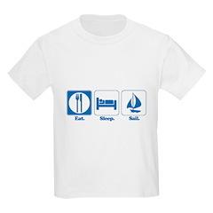 Eat. Sleep. Sail. T-Shirt