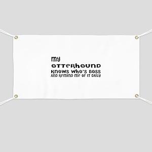 My Otterhound Dog Designs Banner