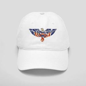 Retro Eagle and USA Flag Cap