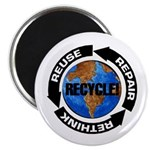 Recycle World Magnet