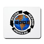 Recycle World Mousepad