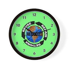 Recycle World Wall Clock