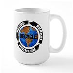 Recycle World Large Mug