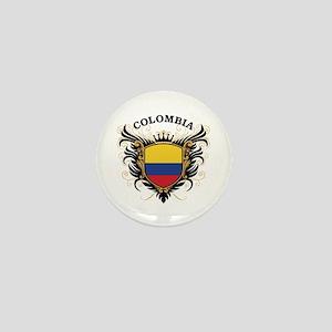 Colombia Mini Button