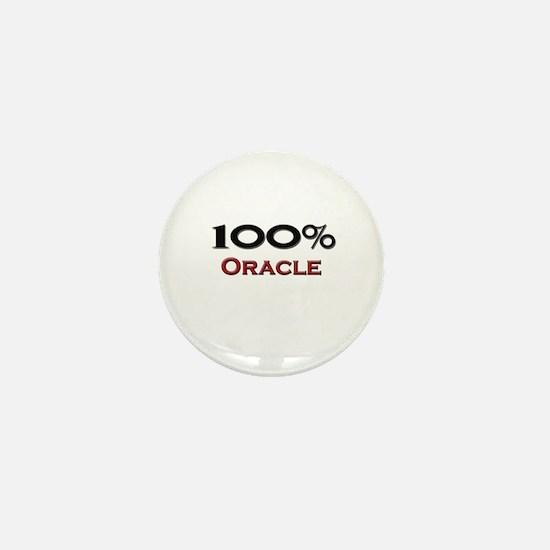 100 Percent Oracle Mini Button