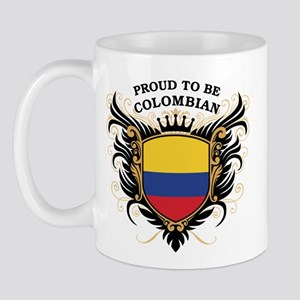 Proud to be Colombian Mug