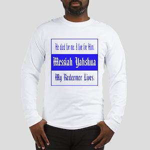 Messiah Yahshua Long Sleeve T-Shirt