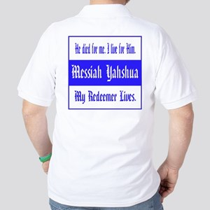 Messiah Yahshua Golf Shirt