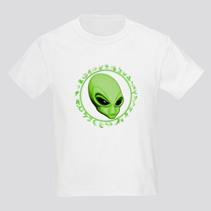 A.L.I.E.N. Encircled Lime Kids Light T-Shirt