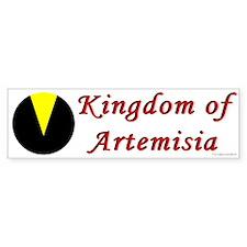 Artemisia Populace Bumper Sticker