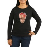 Boobie grapes Women's Long Sleeve Dark T-Shirt