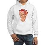 Boobie grapes Hooded Sweatshirt