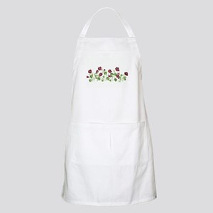 Purple Poppies BBQ Apron