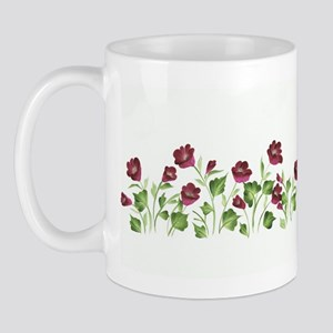 Purple Poppies Mug