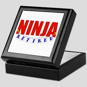 Retired Ninja Keepsake Box