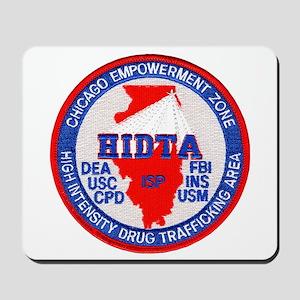 Chicago HIDTA Mousepad