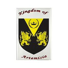 Kingdom of Artemisia Rectangle Magnet