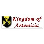 Kingdom of Artemisia Bumper Sticker