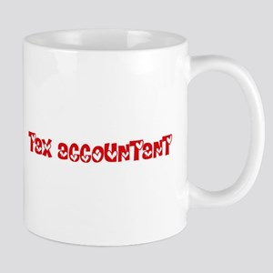Tax Accountant Profession Heart Design Mugs