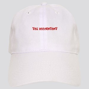Tax Accountant Profession Heart Design Cap