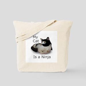 Cat Ninja Tote Bag