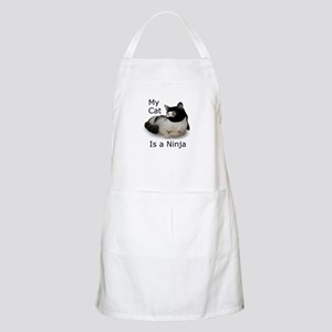 Cat Ninja BBQ Apron