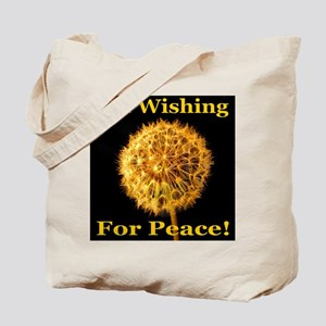 I'm Wishing For Peace! Tote Bag