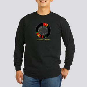 "Ice fishing flasher LS shirt ""c'mon...eat it&"