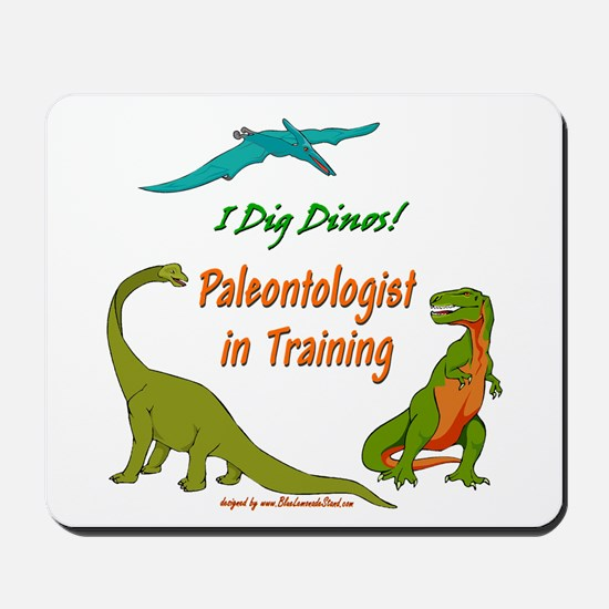 Train Paleontologist Mousepad
