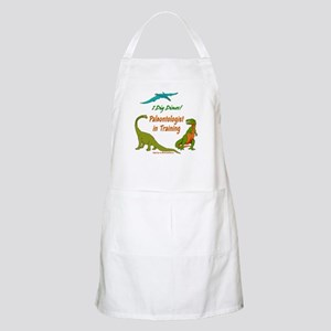 Train Paleontologist BBQ Apron