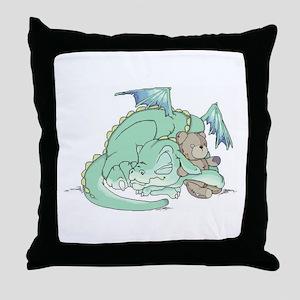 Baby Dragon Throw Pillow