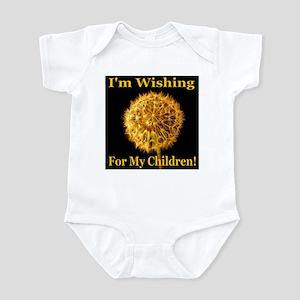 I'm Wishing For My Children Infant Bodysuit