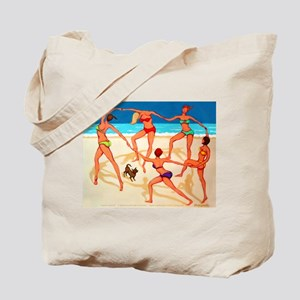 Beach Happy Dance Tote Bag