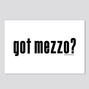 got mezzo? Postcards (Package of 8)