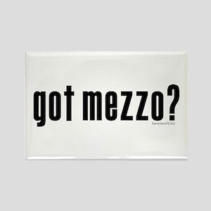 got mezzo? Rectangle Magnet (10 pack)
