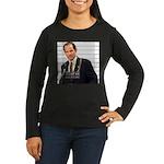 Client Number 9 Women's Long Sleeve Dark T-Shirt