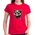 PERSIAN Meow -Outlined Women's Dark Tshirt